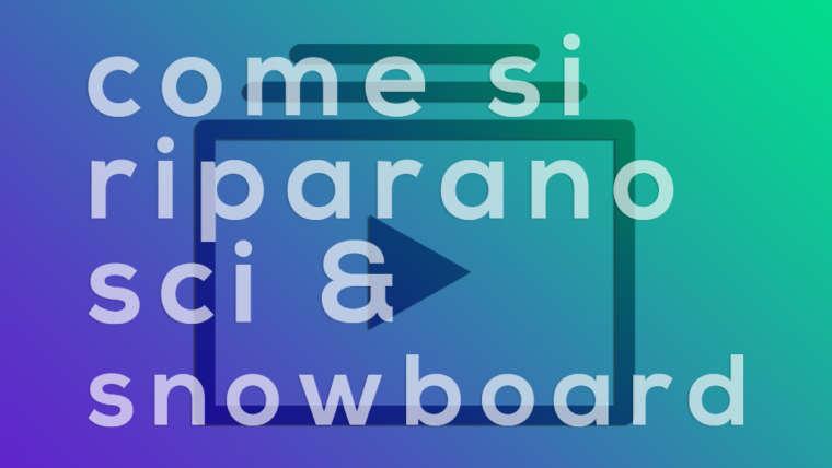 Riparazione – lamnine, tuning, bootfitting, sciolinatura sci & snowboard ad Aprica