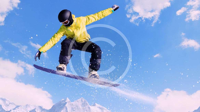Adrenaline Rush per i snowboarders